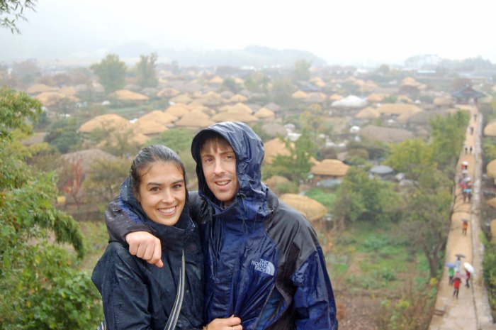 Wet adventures to a traditional village