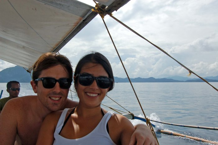El Nido boat trip with this cute guy