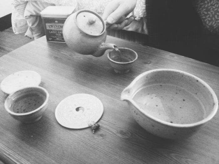 Our new tea set